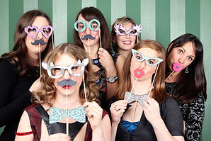 Wedding Party Women Props Photobooth Dublin