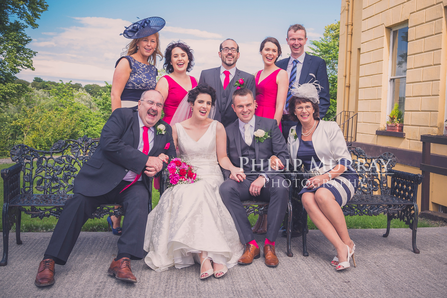 Wedding_A&S_Couple_Bride_Groom_Family_Laughing_Bridal_Party_Philip_Murray_Photography_Dublin