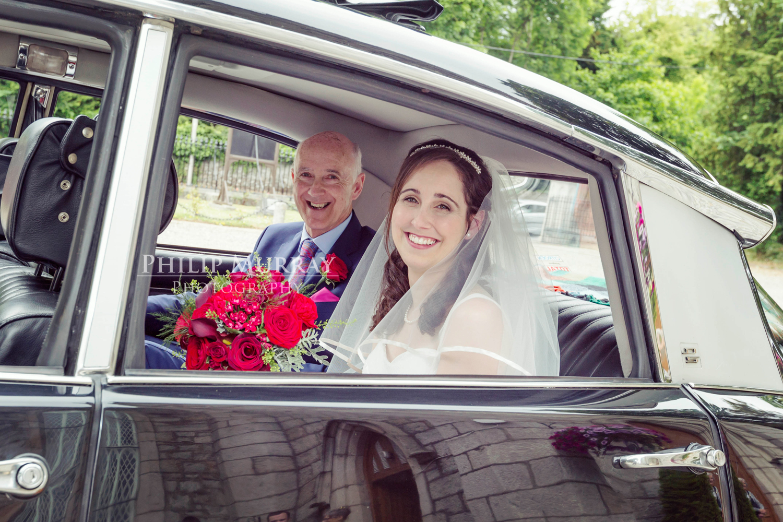 Wedding_R&A_Bride_Groom_Dad_Car_Church_Philip_Murray_Photography_Dublin