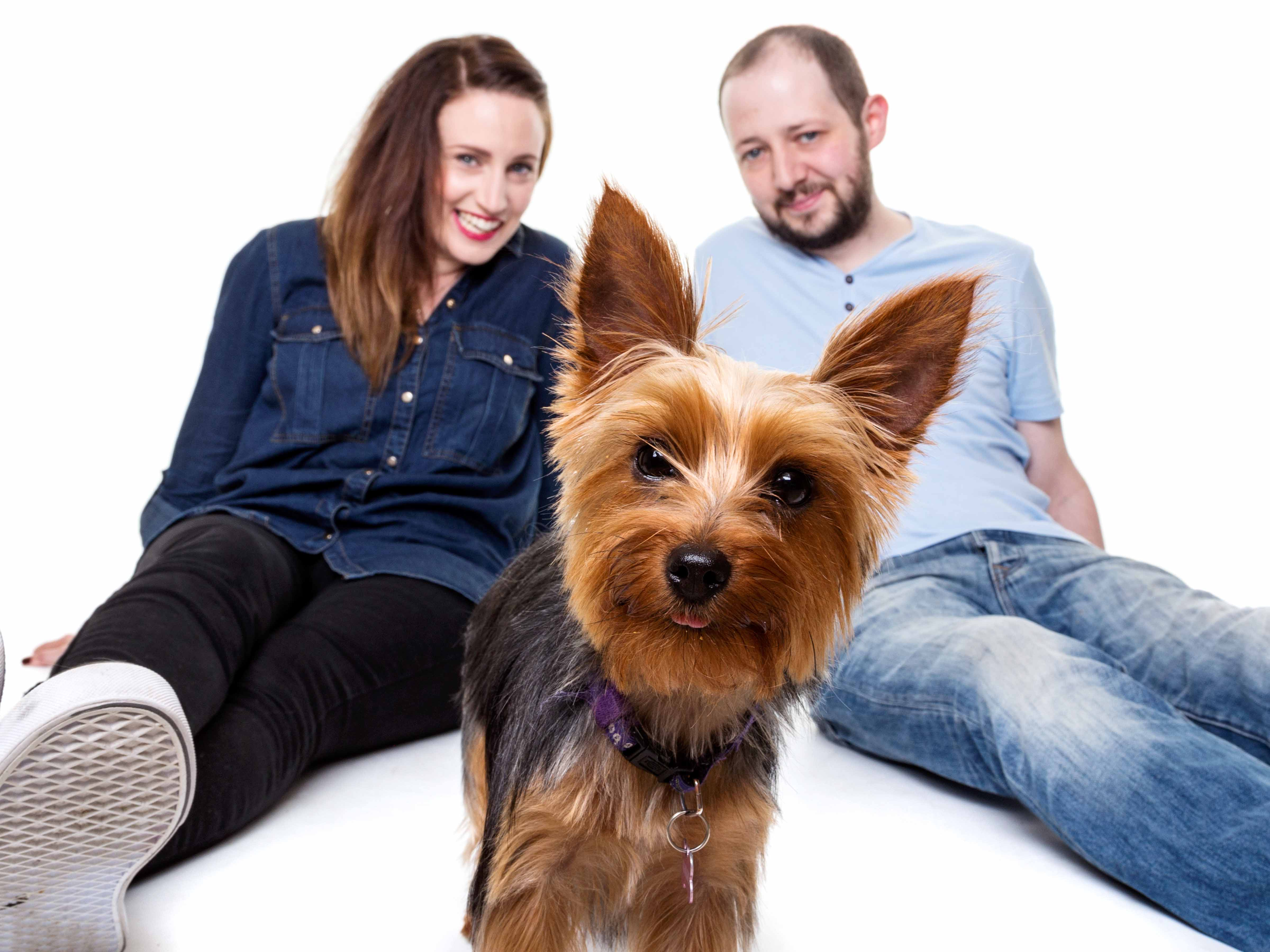 Photography Pet Family Photoshoot