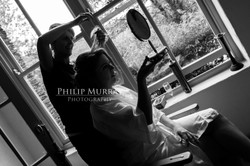 Wedding_A&F_Couple_Bride_Groom_Hair_Mirrow_Prep_Philip_Murray_Photography