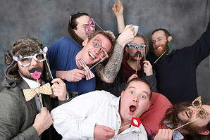 Wedding Party Men Props Photobooth Dublin