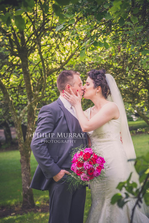 Wedding_A&S_Couple_Bride_Groom_Garden_Trees_Green_Philip_Murray_Photography_Dublin