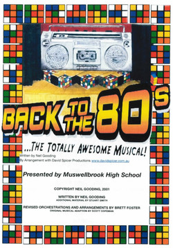 Back To The 80's - Muswellbrook HS