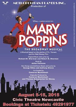 Mary Poppins Poster A4 V3 sml