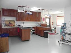 New dental suite treatment area