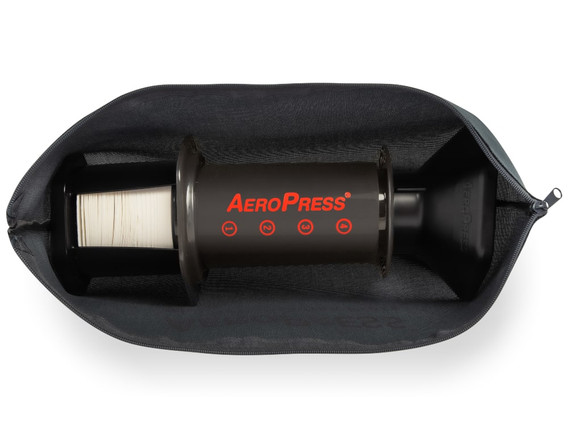 AeroPress and accessories in tote bag.jp