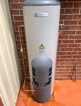 rheem stellar hot water unit