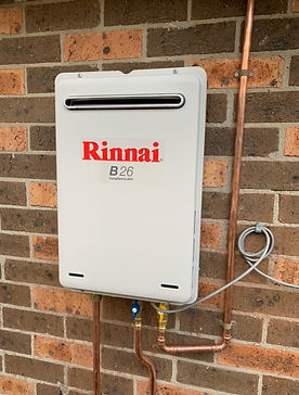 rinnai b26 continuous flow hot water