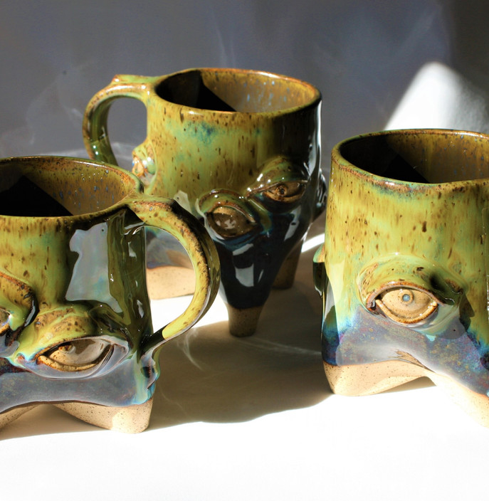 Sea Monster mugs
