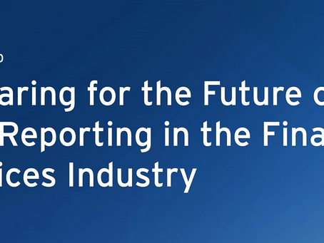HXE Report: Future of ESG Reporting in the Financial Services Industry