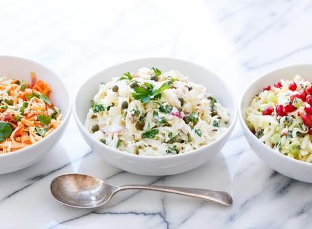 Disfruta de una deliciosa y saludable ensalada de repollo a la KitchenAid®