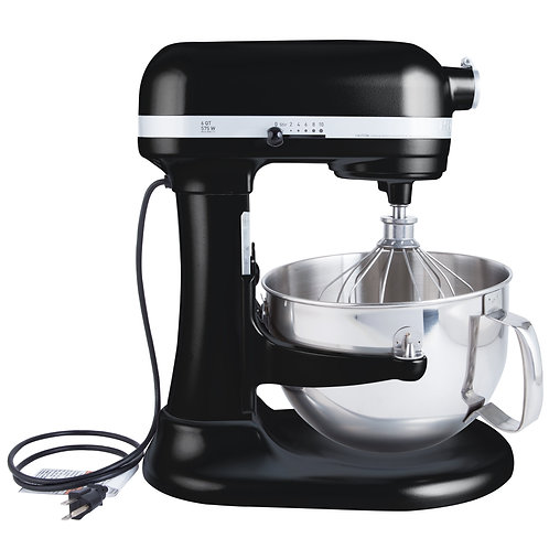 BATIDORA KITCHENAID  PROFESIONAL 5,7 LTS COLOR NEGRO