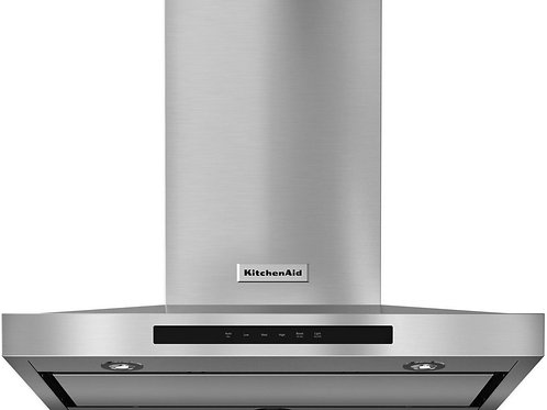 CAMPANA KITCHENAID PARED 91 CM  ACERO INOX