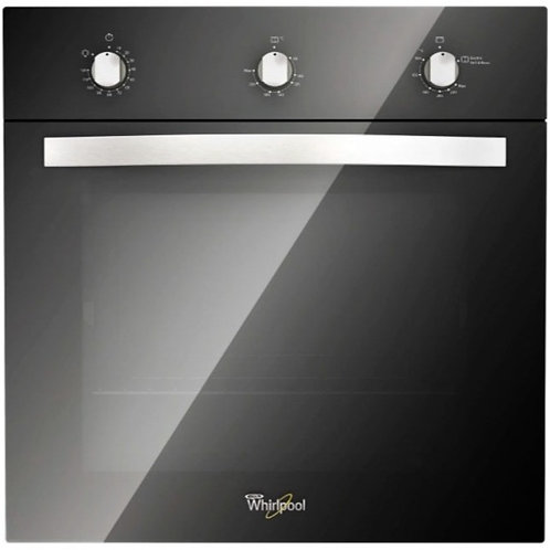 HORNO A GAS WHIRLPOOL COLOR NEGRO 60 CM