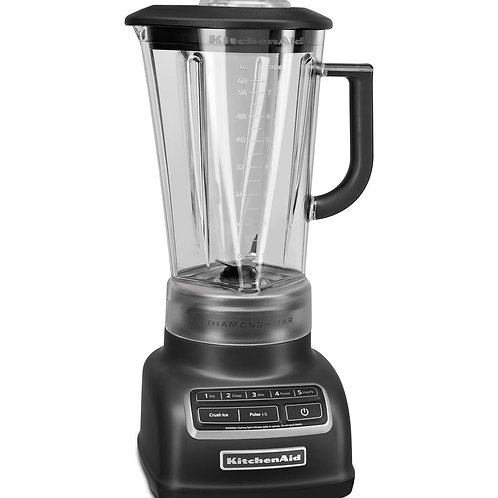 LICUADORA DIAMOND NEGRO MATE KITCHENAID 1,75 LTS - 110 V