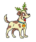 Dog-with-Antlers_Green.png