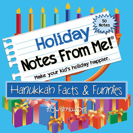 MyWish4U Hanukkah Facts & Funnies