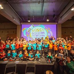Concert Suzuki a benefici de la Marató de TV3