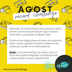 Agost record challenge