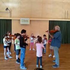 Curs de Violí I Cello amb Christophe Bossuat i Ana Toca