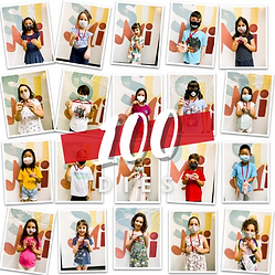 Medalla 100 dies