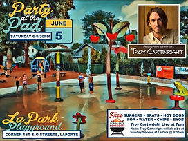 LaPark Playground LaPorte, Indiana concert community party