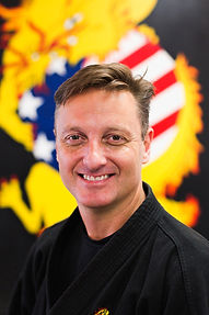 Head instructor  and owneMaster Mark Clark