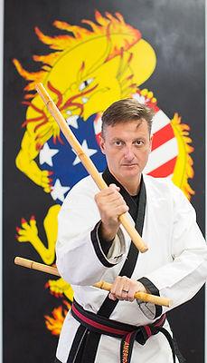 Master Clark nd Escrima Sticks