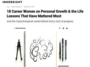 18 Career Women on Personal Growth & the Life Lessons That Have Mattered Most