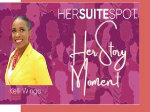 HerSuiteSpot HerStory Moment featuring Kelli Wingo