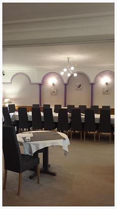 Rénovation restaurant Valence, plâtre et peintures
