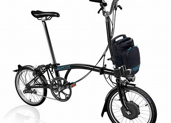 BROMPTON M6L GLOSS BLACK ELECTRIC