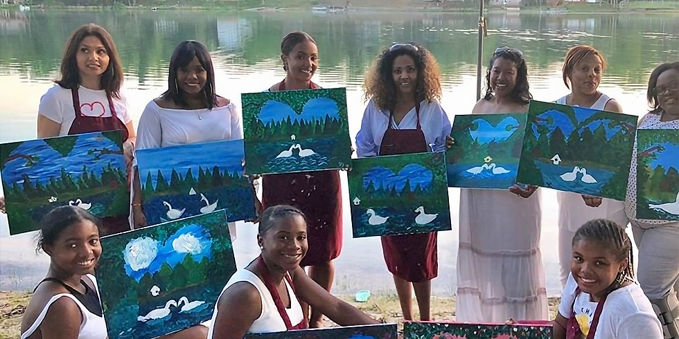 Paint the Lake Dinner Party