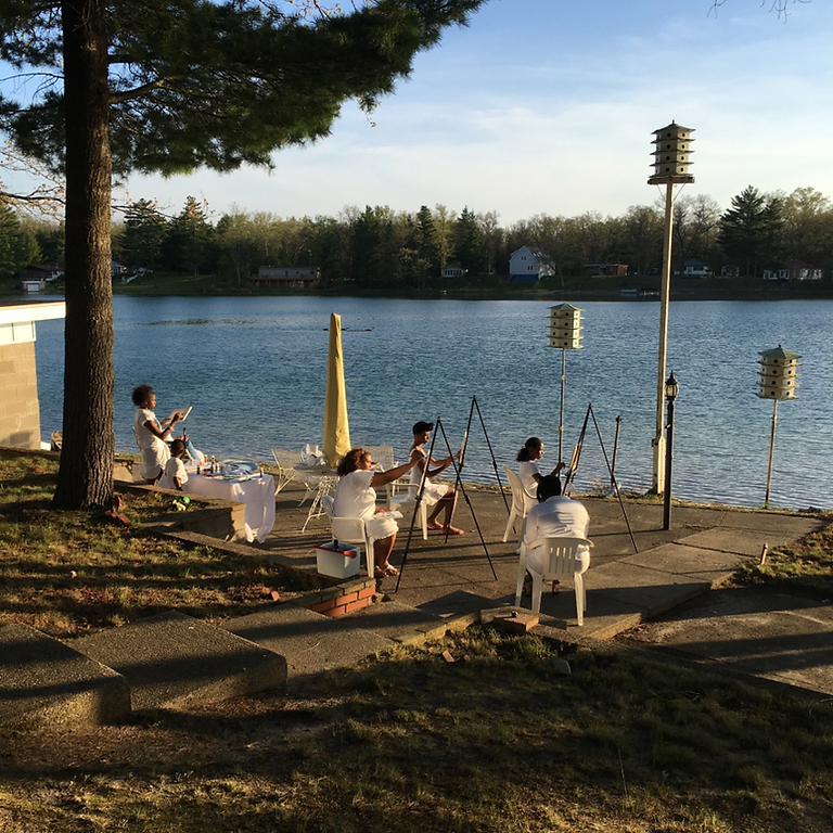 Paint the Lake - Guided Painting Party