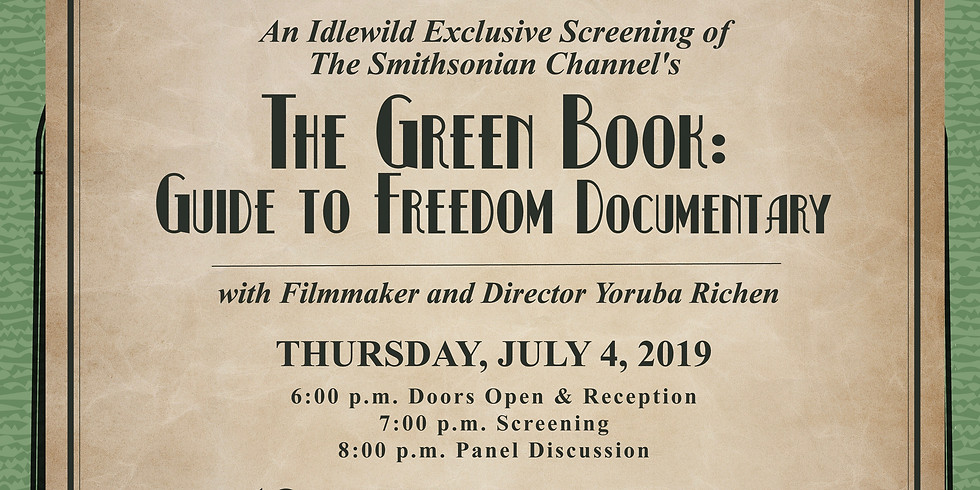 Idlewild's Screening of The Green Book: Guide to Freedom Documentary