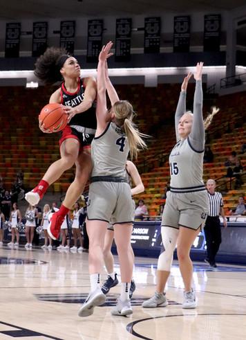 Utah State Women's Basketball VS Seattle