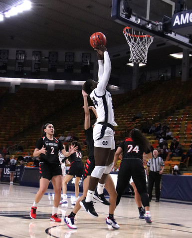Utah State Women's Basketball VS San Diego State
