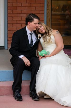 Wedding moment