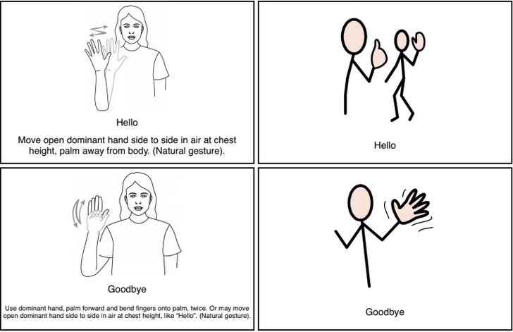 Hello & Goodbye