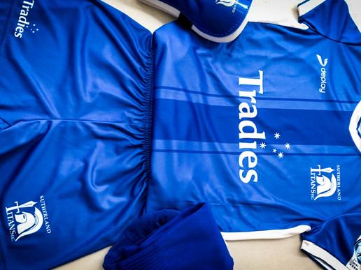 Brand New Sutherland Titans Uniform