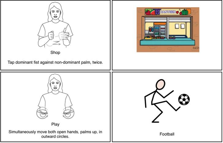 Shop & Football