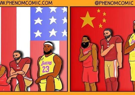 曾經NBA的詹皇是個人權鬥士呢