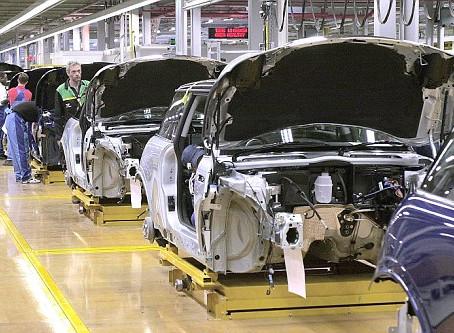 德國汽車業出口大減