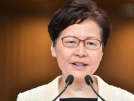 香港撤回送中條例