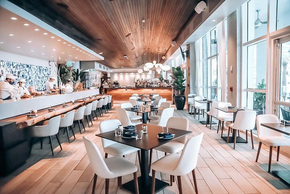 TAKATO Japanese Korean Fusion Restaurant located at Conrad Fort Lauderdale