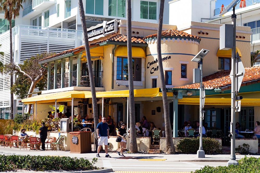 Casablanca Café, Fort Lauderdale Beach, Florida