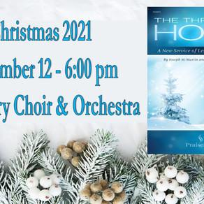 Sanctuary Choir Christmas 2021