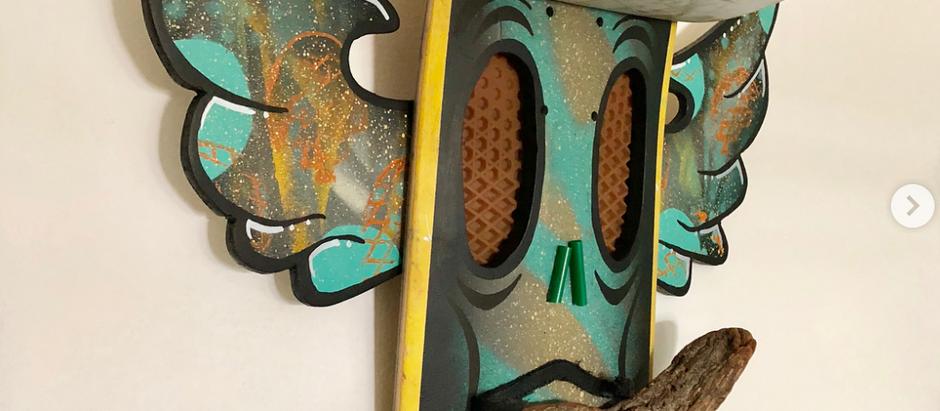 Upcycled Art - Meet Mr. Don Rolio