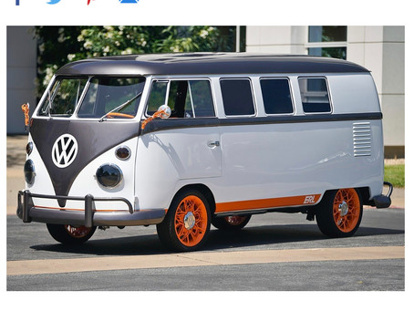 Volkswagon Debuts Electric Campervan
